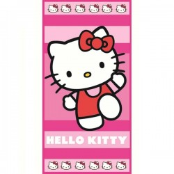 Serviette de Bains Hello Kitty Run