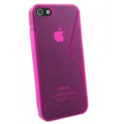 iPhone 5 - Coque TPU style Rose