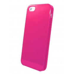 iPhone 5 - Coque TPU Fluide Rose