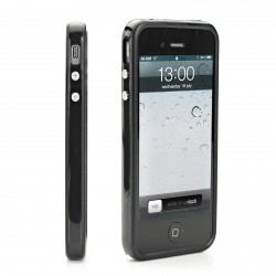Bumper contour de protection Noir Muvit pour Apple iPhone 5