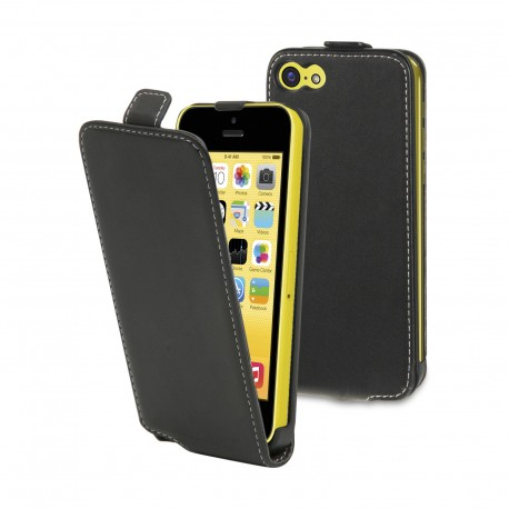 Etui slim Muvit Noir pour Apple iPhone 5C