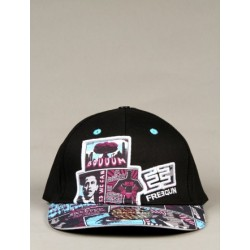 Freegun - Casquette Comix 2 - Black & Blue