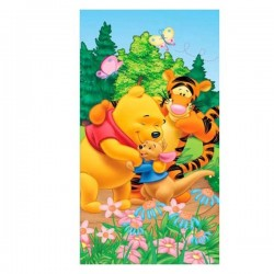 Winnie The Pooh - Beach Towel with friends