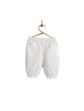 PIROULI - Knickers Quentin plain white