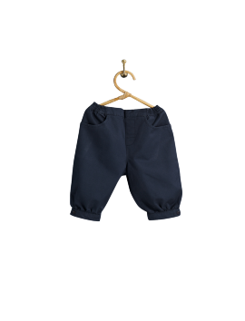 PIROULI - Knickers Quentin plain navy