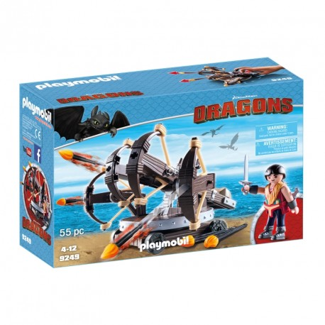 Playmobil - 9247- Astrid and its Dragon Tempest