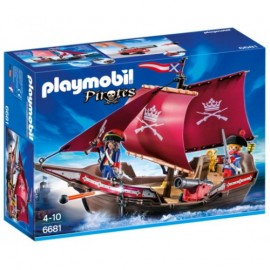 Chaloupe des soldats - Playmobil Pirates 6681