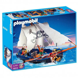 Playmobil - 5810 - La Chaloupe des Pirates