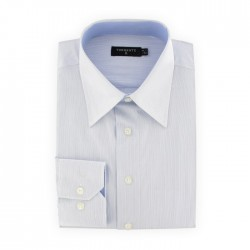 Torrente - Chemise Blanche Rayures Bleu