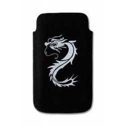 Iphone - Coque de protection en mousse + Film écran Invisible motif Dragon
