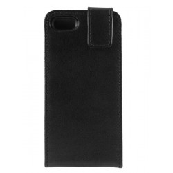 iPhone 5 - Etui Cuir Flip HQ Noir