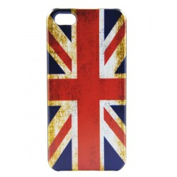 iPhone 5 - Coque Rigide Flag Union Jack ancien UK