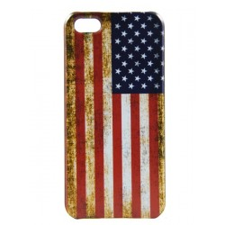 iPhone 5 - Coque Rigide Flag ancien US