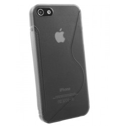 iPhone 5 - Coque TPU style Tranpsarent