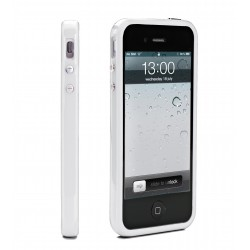 Muvit - Bumper Contour de Protection Blanche Muvit pour Apple iPhone 5