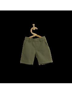 PIROULI - Bermuda Shorts Gatien plain kaki