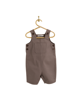 PIROULI - Dungarees Franck plain taupe