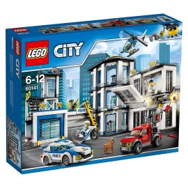 LEGO® - City 60141 - Le commissariat de police
