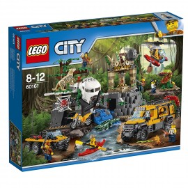 LEGO® - City 60161 - Le site d'exploration de la jungle